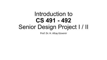 COMP4710 Senior Design Richard Chapman. Outline What is