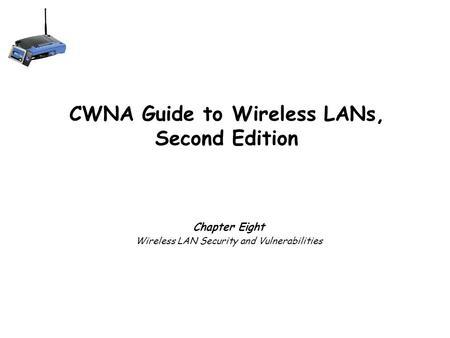 Wireless Network Security Dr. John P. Abraham Professor