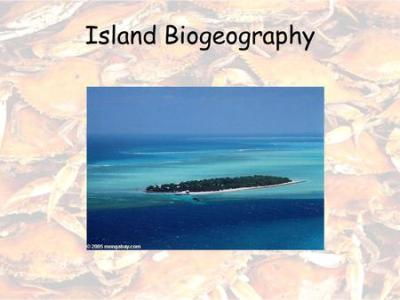 Island biogeography: lecture topics - ppt video online ...