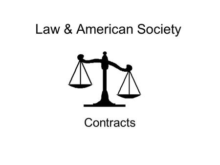 LAW OF CONTRACT CAPACITY TO CONTRACT. Capacity to Contract