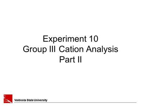 Chemical Clarification Precipitation Methods Prepared By