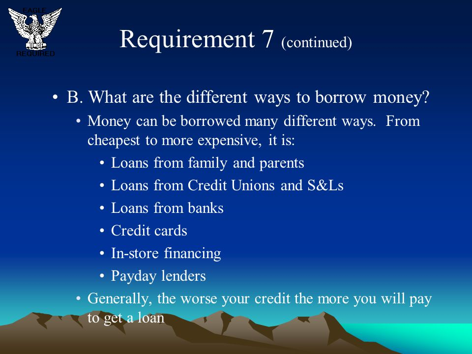Banks Get Personal Loans