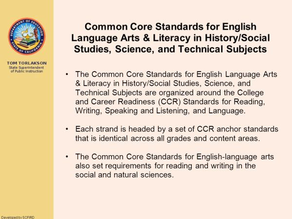 Common Core State Standards ppt download