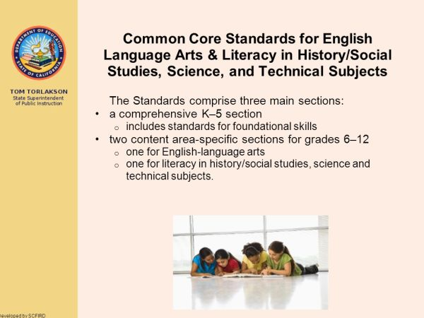 Common Core State Standards - Ppt