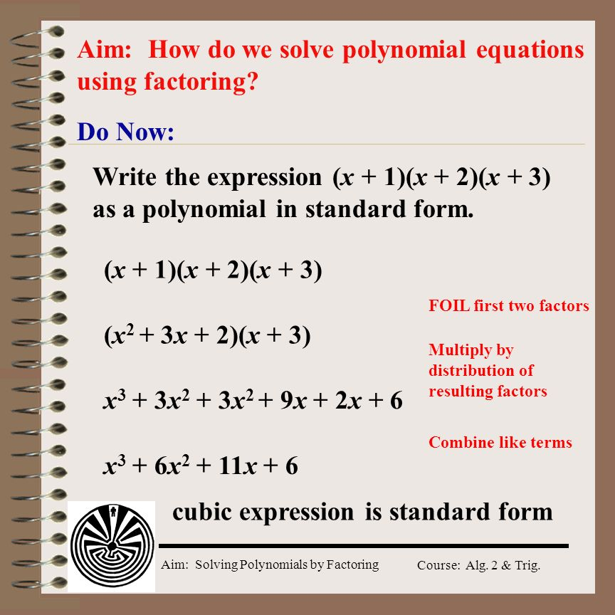 Cubic Solving Equations