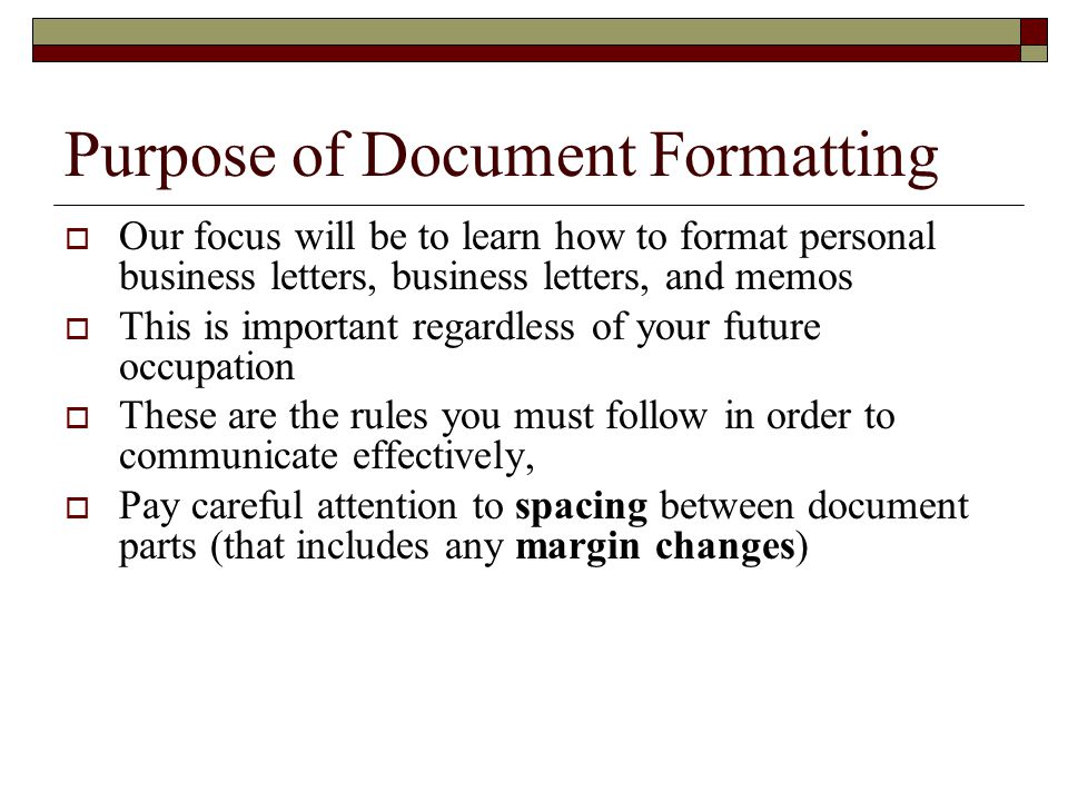 Personal Business Letters And Common Documents Ppt Download