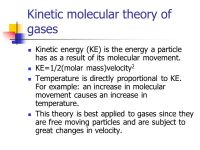 Kinetic Molecular Theory Of Gases Worksheet - Checks Worksheet