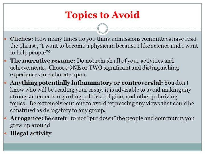 10 college essay topics to avoid mistyhamel