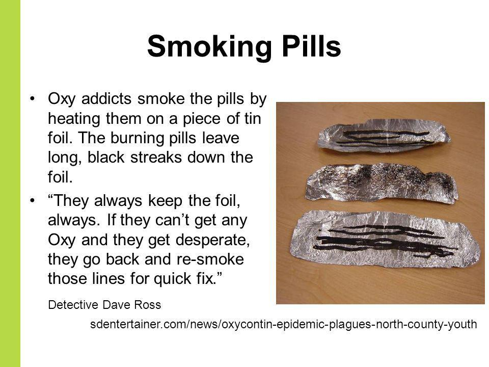 How Do You Smoke Oxycodone