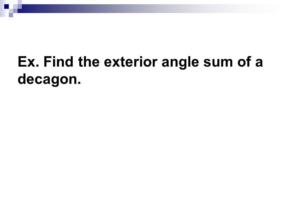 Worksheet Polygon Angles Exterior Angles