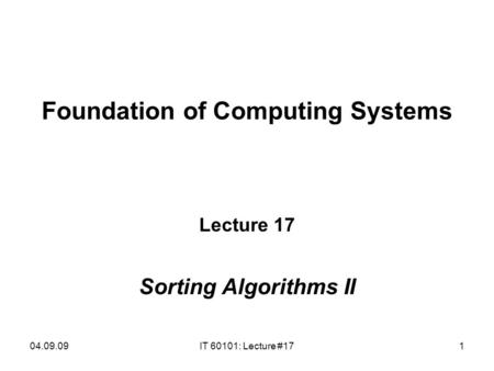 Discrete Math CSC151 Analysis of Algorithms. Complexity of