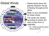Global Winds Worksheet Free Worksheets Library