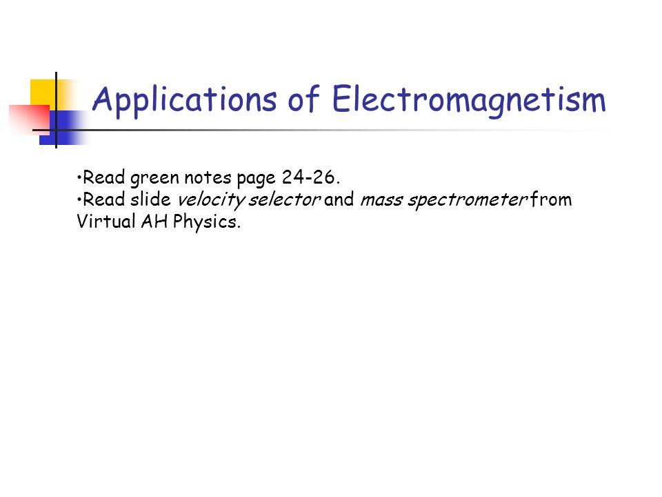 component mass spectrometer diagram wiring for old bt master socket advanced higher physics unit 2 - ppt video online download