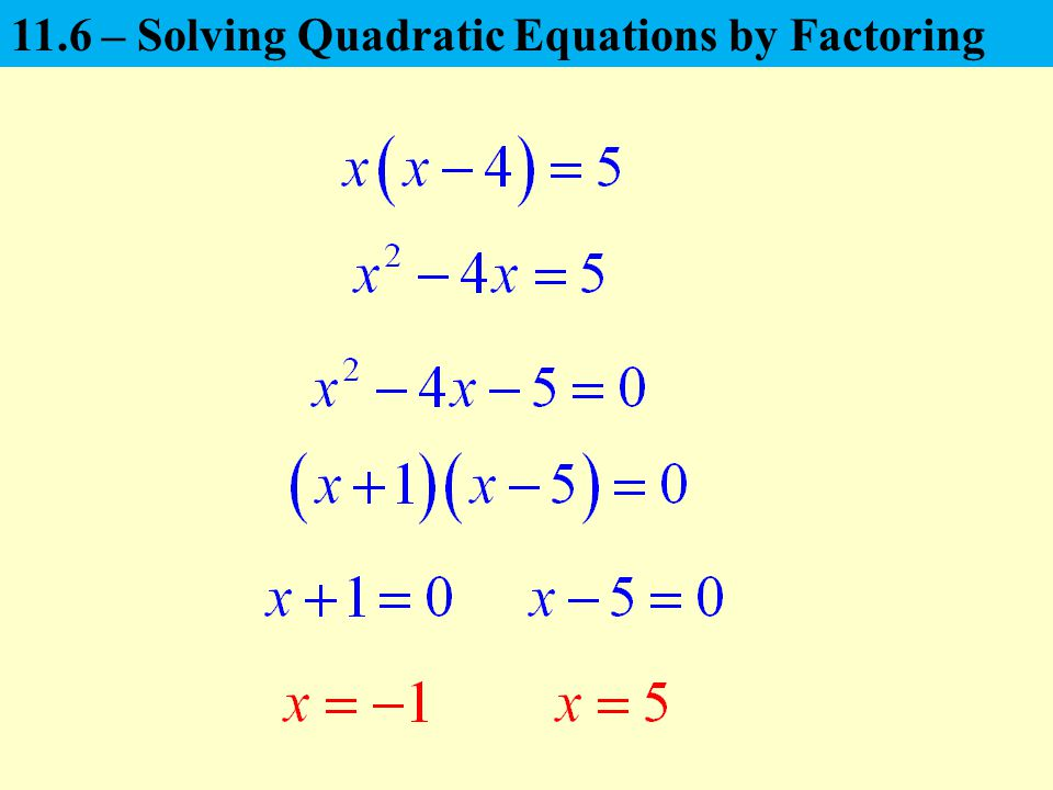 A Quadratic Equation Is Written In The Standard Form,  Ppt Video Online Download