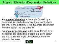 Angles Of Elevation And Depression Worksheet - resultinfos
