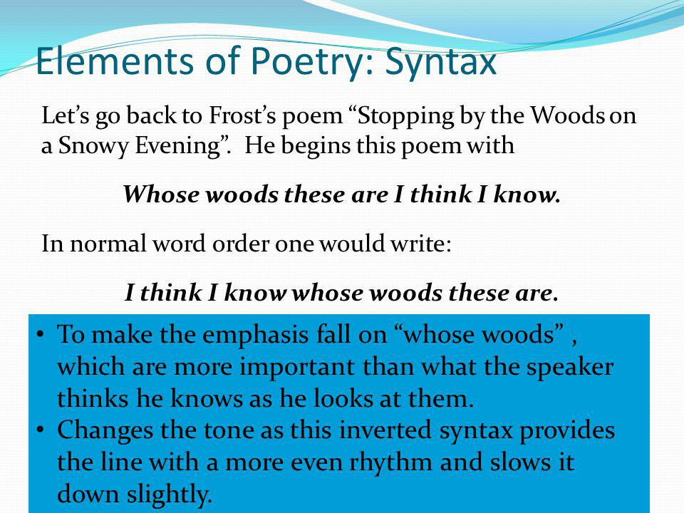 An Introduction To Poetry Ppt Video Online Download