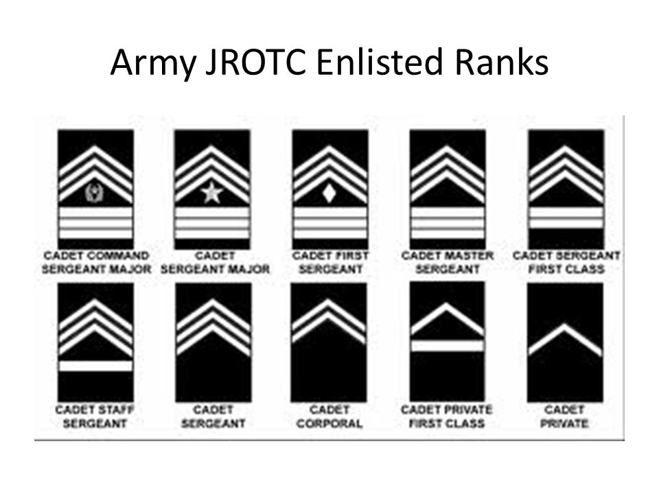 The Army: Enlisted Ranks In The Army
