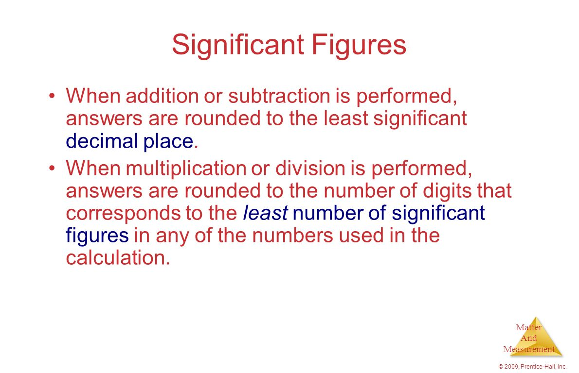 Chapter 1 Introduction Matter And Measurement
