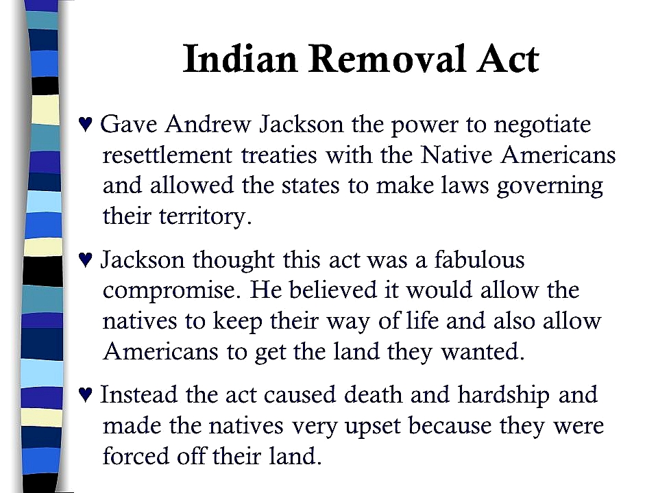native american quote by andrew jackson picture chapter 12 the age of jacksonppt n removal act