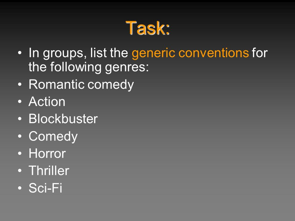 Types Comedic Devices