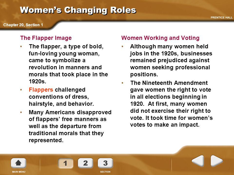 Postwar Social Change 19201929 Chapter Ppt Download
