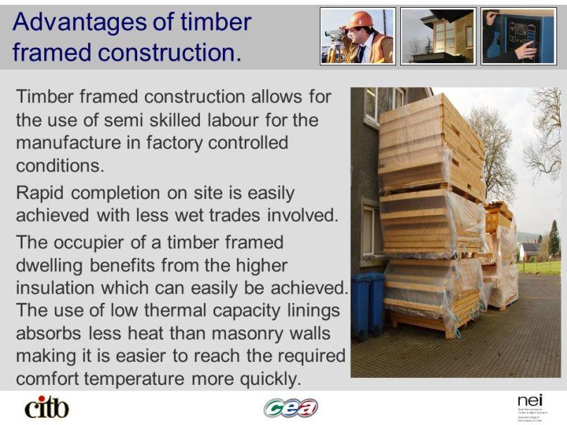 Amazing Benefits Of Timber Frame Construction Pattern - Custom ...