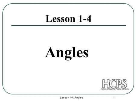 Angle Pair Relationships. Angle Pair Relationship