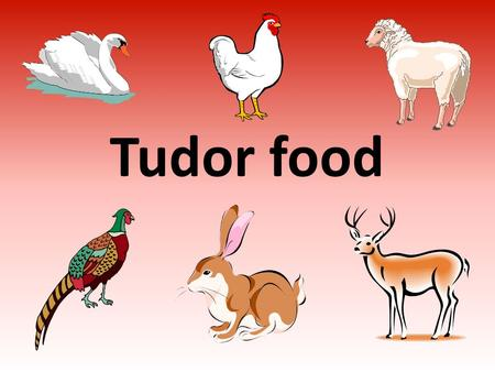 Tudor Food Most Tudor people ate quite well The rich
