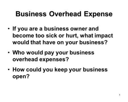 Business Interruption Insurance is Going to Save Your