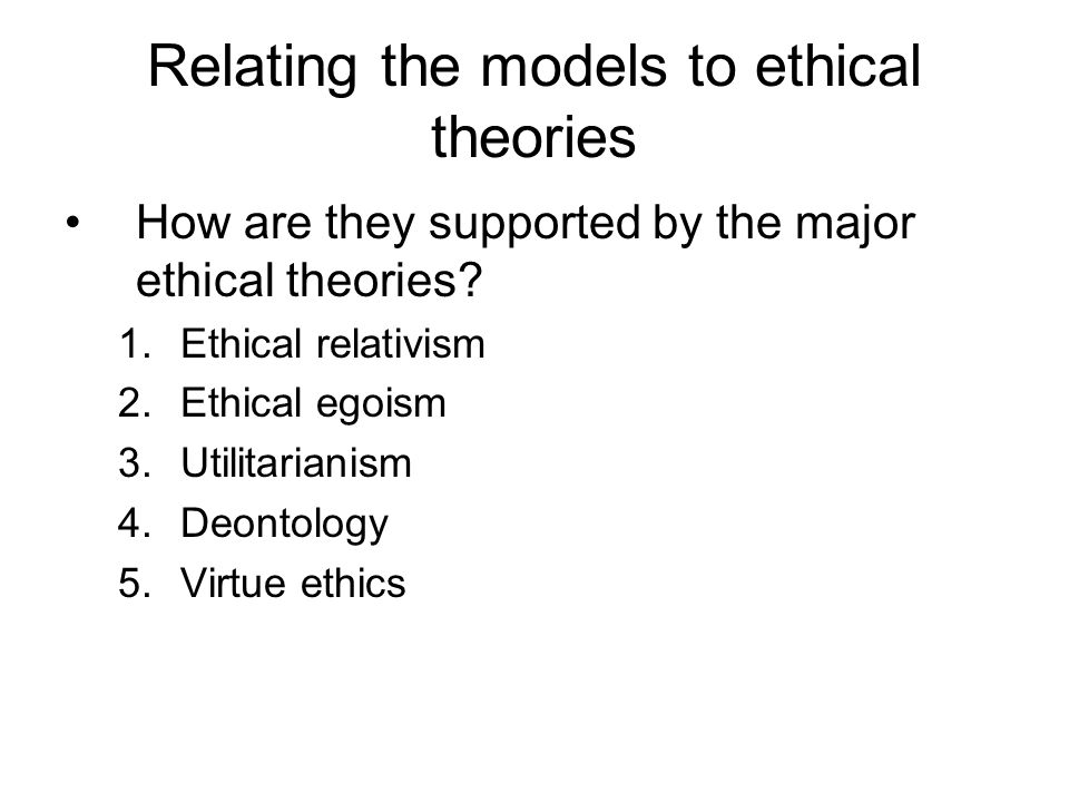 Ethical Models Of Doctor Patient Relationship Ppt Download