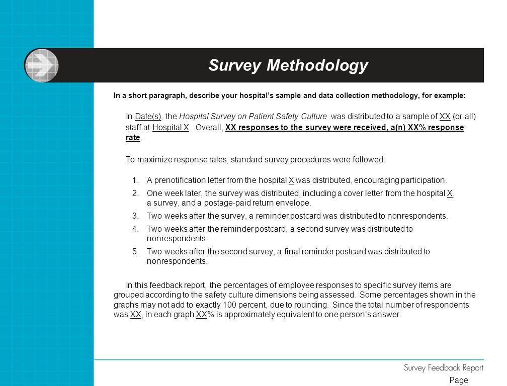 Hospital Survey on Patient Safety Culture  ppt video online download