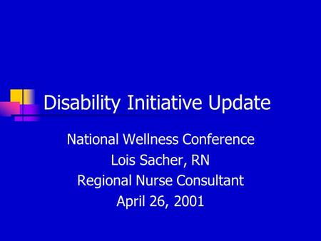 1 Career Transition Staff Disability Training Sylvia