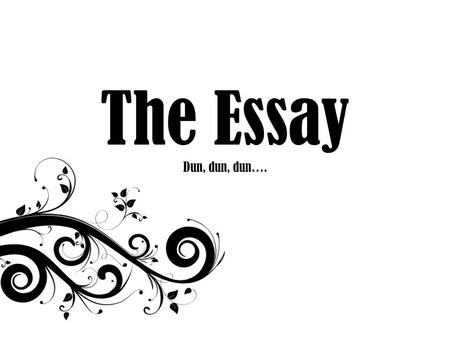 MLA Guide to Writing: Argumentative Essays. MLA Format