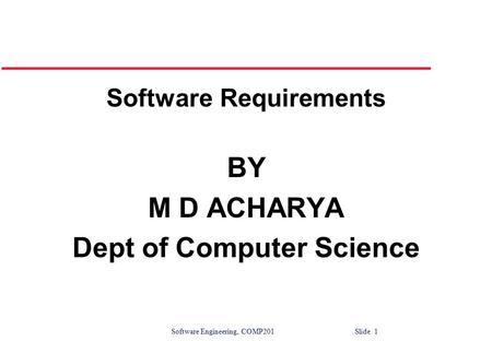 ©Ian Sommerville Software Engineering Slide 1 Software