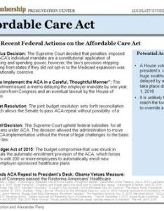 June may affordable care act timeline of key recent federal actions on the also legislative forecast for th congress february rh slideplayer