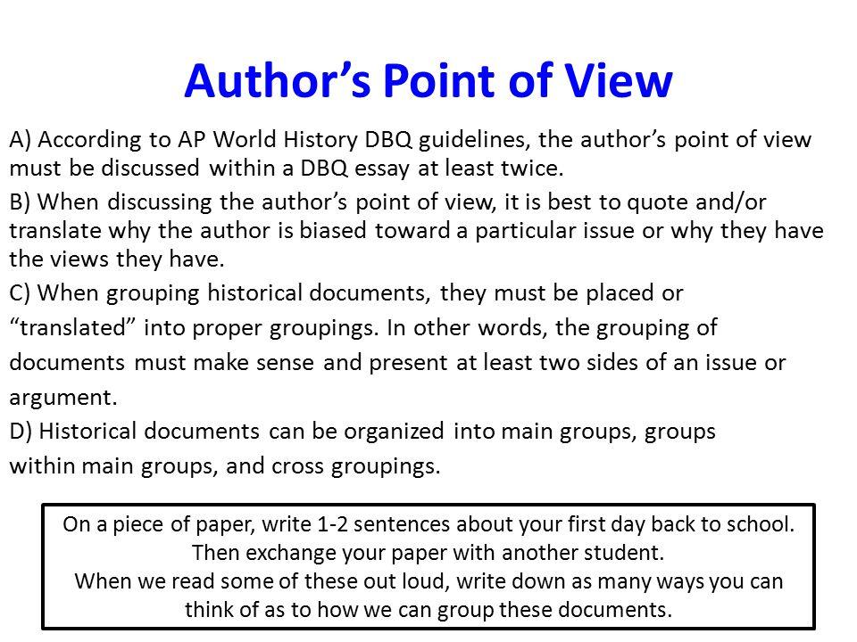 Thesis something purchasing essays whose idea  2S Transport Texas history essay presentation