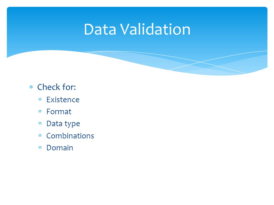 Database Security Validation