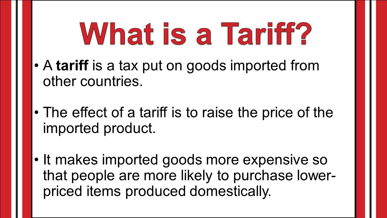 Trade Barriers Tariff Quota  Embargo  ppt video