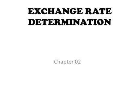 Economics of International Finance Econ ppt download