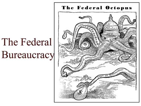 Chapter 16 The Bureaucracy Instructor: Kevin Sexton Course