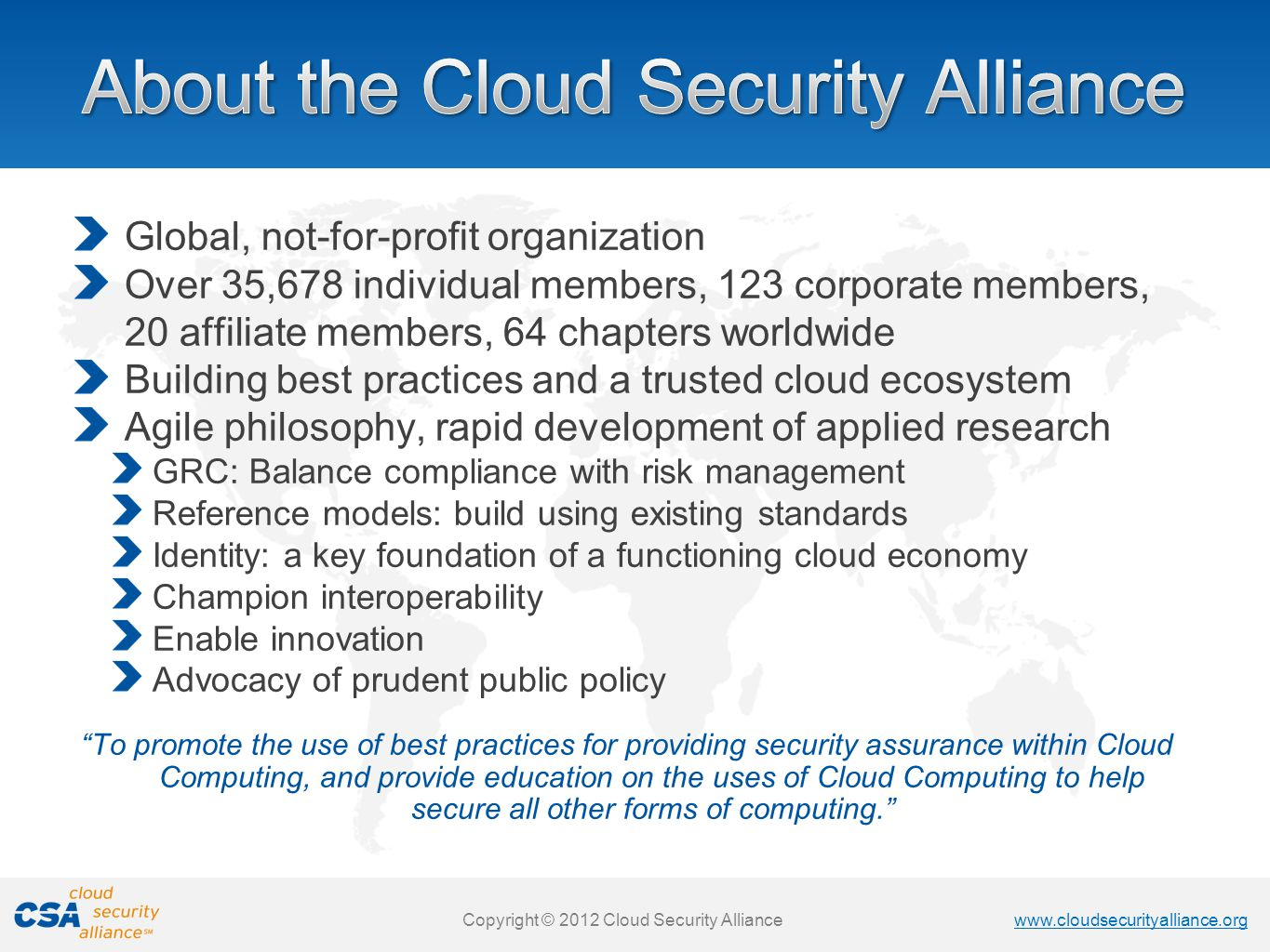Cloud Security Policy