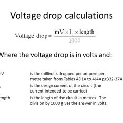 Single Phase Voltage Drop Formula Viper Alarm 5900 Wiring Diagram Bs7671 And Tips. - Ppt Video Online Download
