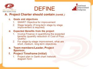 Lean Six Sigma Project Presentation Template  ppt video