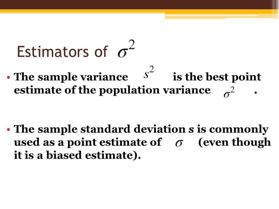 Sample Standard Deviation Symbol