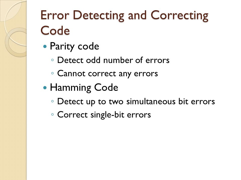 Hamming Code  Ppt Video Online Download
