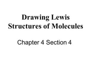 Lewis Structures In Covalent Bonds valence electrons are distributed as shared or BOND PAIRS