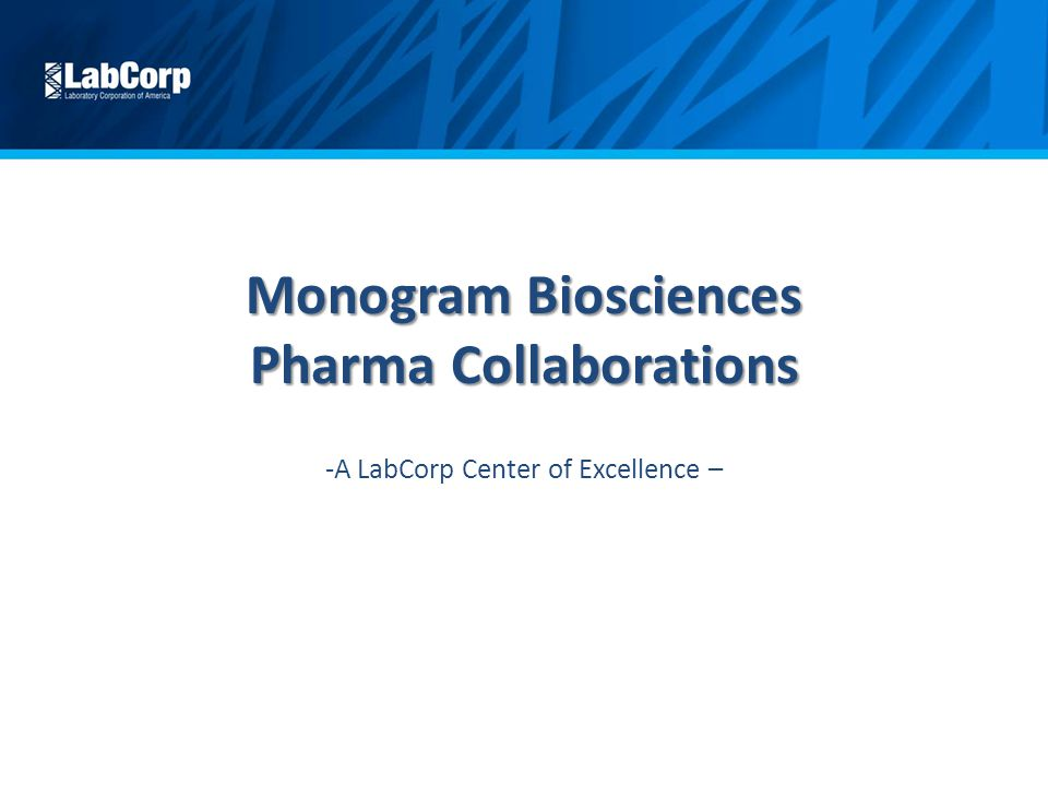 monogram biosciences