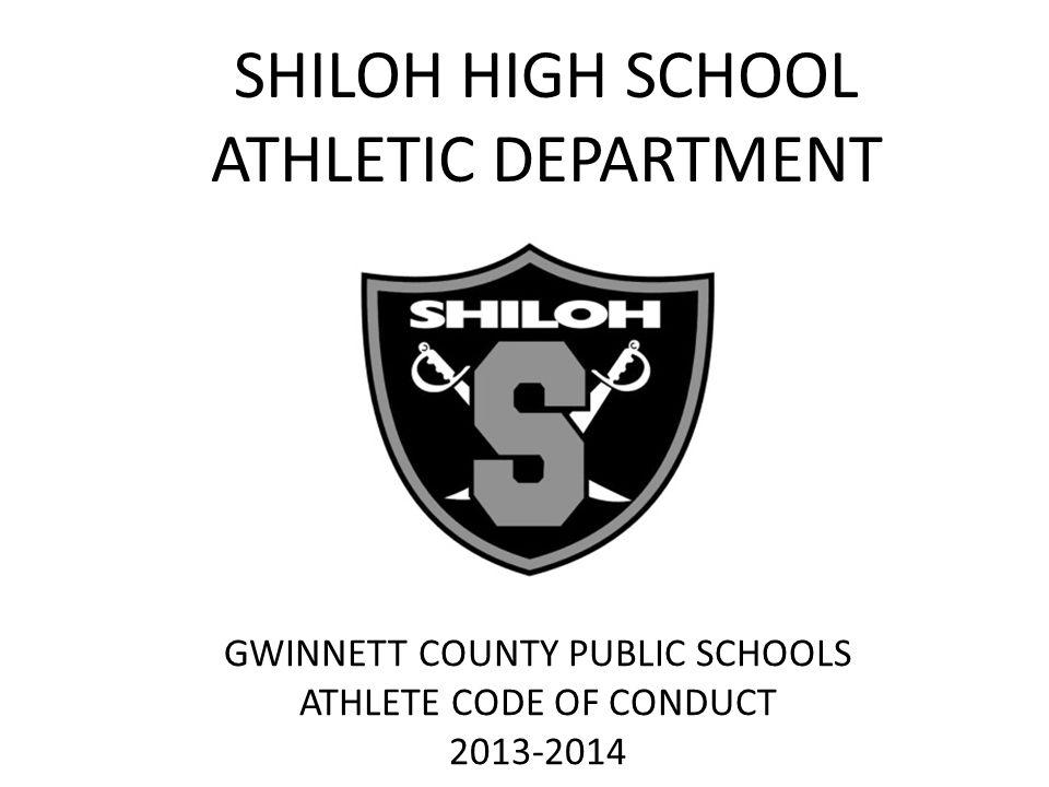 SHILOH HIGH SCHOOL ATHLETIC DEPARTMENT GWINNETT COUNTY