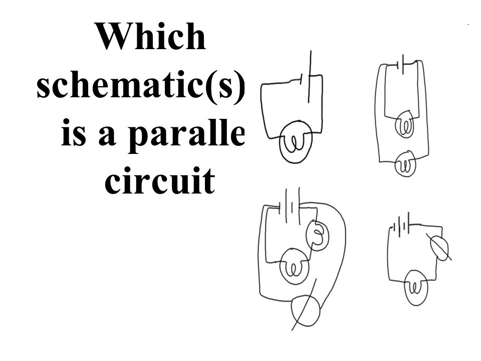 Schematics On or off Batteries Series or Parallel Volts