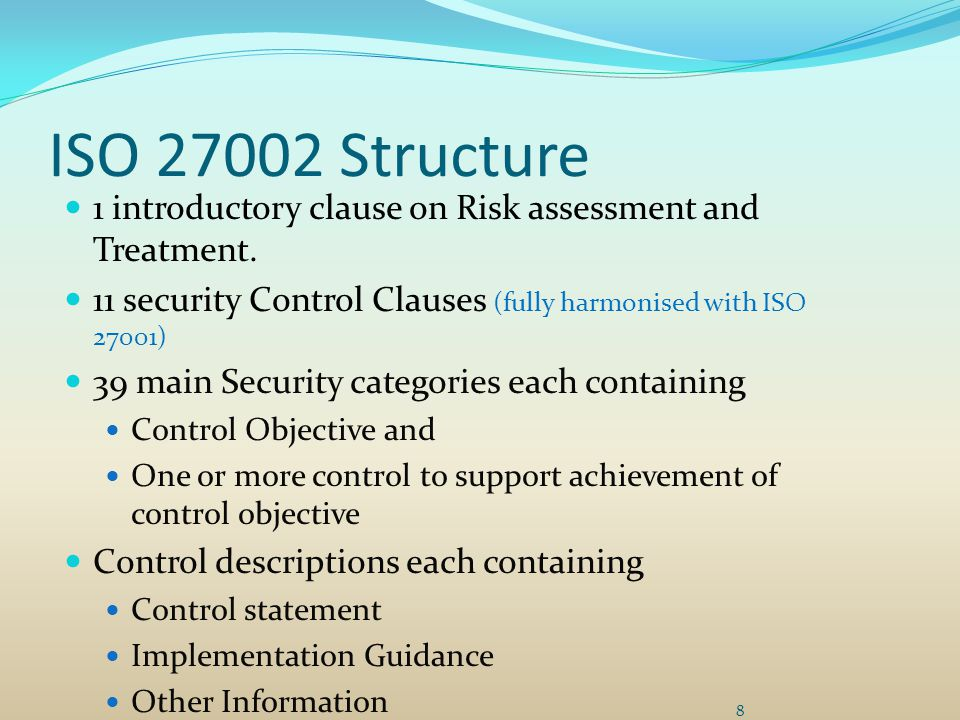 Iso Security 27001 Policy